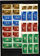 Polen OO 1962 Athletik IMP/UNGZ: 10 Set - Usati