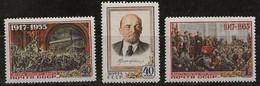 Russie 1955 N° Y&T : 1765 à 1767 * - Nuovi