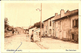 1F3  ---  54   VANDIERES   Rue Saint-Jean - Sonstige Gemeinden