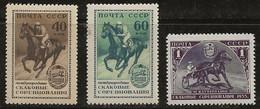 Russie 1956 N° Y&T : 1775 à 1777 * - Nuovi