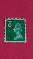 GRANDE-BRETAGNE - Kingdom Of Great Britain - Timbre 1971 : Reine Elizabeth II, Couronne De Saint-Edouard - Used Stamps