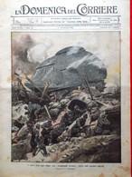 La Domenica Del Corriere 8 Ottobre 1916 WW1 Rubbia Pessina Losito Somme Vojussa - Guerra 1914-18