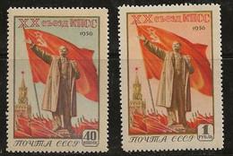 Russie 1956 N° Y&T : 1782 Et 1783 ** - Nuovi