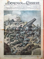 La Domenica Del Corriere 29 Ottobre 1916 WW1 Somme Asiago Carso Balbi Austriaci - Guerra 1914-18