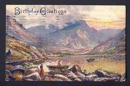 OILETTE RAPHEL TUCK Picturesque Wales - Capel Curig - #7100 - Pu 1911 Sewickley PA USA - Tuck, Raphael