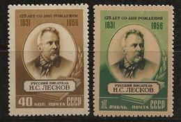 Russie 1956 N° Y&T : 1818 Et 1819 * - Nuovi