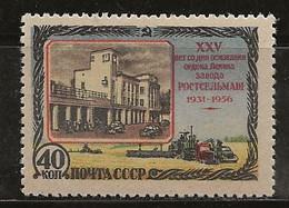 Russie 1956 N° Y&T : 1821 * - Nuovi