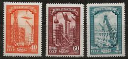 Russie 1956 N° Y&T : 1826 à 1828 * - Nuovi