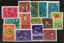 Russie 1956 N° Y&T : 1829 à 1842 * - Nuovi