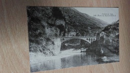 CPA -  140. Gorges Du Tarn - Pont De SAINT CHELY - Saint Chely D'Apcher