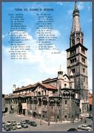 °°° Cartolina - Modena Torre Ghirlandina Viaggiata (l) °°° - Modena