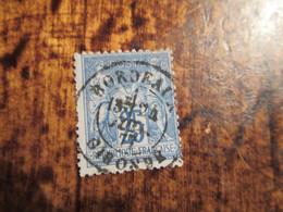 25c Type Sage Obl Bordeaux Gironde1877 - 1876-1878 Sage (Typ I)