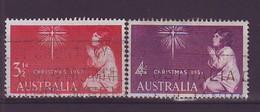 AUSTRALIA 279-280,used,Christmas 1957 - Natale