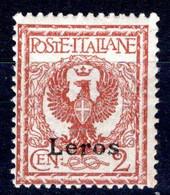 Egeo - Lero (Leros) 2 Centesimi ** - Egeo (Lero)