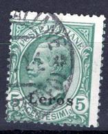 Egeo - Lero (Leros) 5 Centesimi (o) - Egeo (Lero)