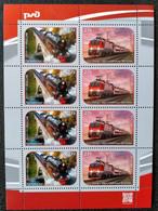 RUSSIA MNH(**)2021 Transportation - Modern Trains MI3019-3020 - Anno Nuovo