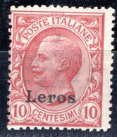 Egeo - Lero (Leros) 10 Centesimi ** - Egeo (Lero)