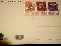FDC ITALIA 2012 CARTOLINA INTERO POSTALE - GIORNATA DELLA FILATELIA ROMAFIL   IG10587 - Giornata Del Francobollo