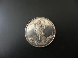 Medaille France Courtièrs De Commerce -  Liberté Du Courtage - Cours Officiel Des Soies - 1866 - Silver - Unclassified