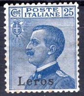 Egeo - Lero (Leros) 25 Centesimi * Ben Centrato - Egeo (Lero)