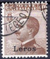 Egeo - Lero (Leros) 40 Centesimi (o) - Egeo (Lero)