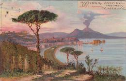 A568) NAPOLI - Panorama - Super VARIANTE - Very Old ! 1903 - Napoli
