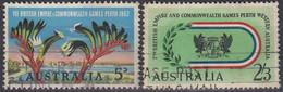 AUSTRALIA 321-322,used - Usati