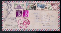 Espagne - Enveloppe De Timbre Moderne En Circulation - 1981-90 Storia Postale