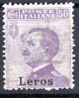 Egeo - Lero (Leros) 50 Centesimi * - Egeo (Lero)