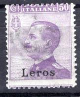 Egeo - Lero (Leros) 50 Centesimi ** - Egeo (Lero)
