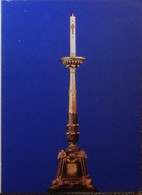 Petit Calendrier Poche 1993 Chandelier  Cierge Pascal  église Du Suquet - Paroisse N.D. D'Espérance Et St Joseph Cannes - Formato Piccolo : 1991-00