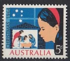 AUSTRALIA 348,unused,Christmas 1964 - Nuovi