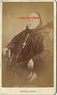 CDV Identifiée Prosper GUERANGER 1805/1875-moine Bénédictin-abbaye De Solesmes- Par Léopold Dubois à Poitiers - Oud (voor 1900)