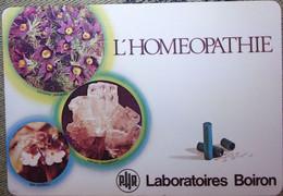 Petit Calendrier Poche 1978 Laboratoires Boiron  Sainte Foy Les Lyon  Rhône Fleurs Abeille Homeopathie - Formato Piccolo : 1971-80