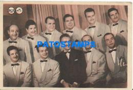 172115 ARTIST JAZZ SAN FRANCISCO MUSIC DISCOS RCA NO POSTAL POSTCARD - Attori