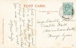 Sandringham House -Good Postmark Of Hackney S.O.E. 5 1904-sent To Dorothy Brown, Crabbe Hall, Burnham South, Kings Lynn - Altri