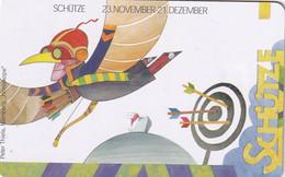 GERMANY(chip) - Zodiac/Sagittarius, Painting/Peter Thiele(A 18), Tirage 70000, 08/99, Mint - Zodiaco