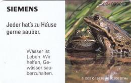 GERMANY(chip) - Frog, Siemens Umwelt 1(O 166), Tirage 20000, 02/95, Mint - Non Classificati