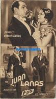 172123 ARTIST SPINELLY & ROBERT BURNIER ACTOR CINEMA FILM JUAN LANA NO POSTAL POSTCARD - Attori