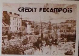 Petit Calendrier Poche 1985 Banque Crédit Fécampois Fécamp Cany Etretat Goderville Fauville - Formato Piccolo : 1981-90