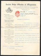 Société Belge D'Etudes Et D'Expansion Liege 1938 N°C402 - Documenti Storici