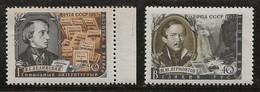 Russie 1956-1957 N° Y&T : 1888 Et 1889 ** - Nuovi