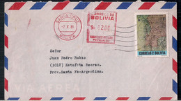 Bolivie - Enveloppe De Timbre Moderne En Circulation - Bolivien