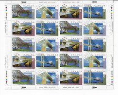 CANADA 1995 SCOTT 1573a MNH  FULL SHEET OF 20 - Unused Stamps