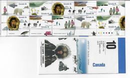 CANADA 1995 SCOTT 1573b MNH  BOOKLET PANE OF 10 - Unused Stamps