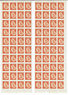 CANADA 19646SCOTT 452 MNH  SHEET OF 80 - Unused Stamps
