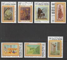1997- Tunisie - Hommage Aux Artistes Peintres Tunisiens - Série Complète  7V.MNH** - Altri