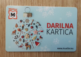 Mueller New Year Christmas Gift Card Slovenia - Gift Cards