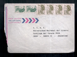 France - Enveloppe De Timbre Moderne En Circulation - Briefe U. Dokumente