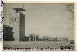 - 2 Cartes F M - Militaria, Soldats Et Camp Du 3/435 Régiment D'artillerie Aérienne, Ain Taoujdae, Maroc, TTBE, Scans. - Andere Oorlogen